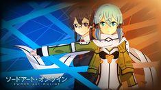 Anime Sword Art Online II  Kazuto Kirigaya Sword Art Online Kirito (Sword Art Online) Sinon (Sword Art Online) Asada Shino Fondo de Pantalla