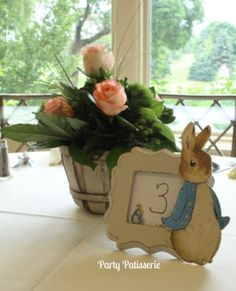 Peter Rabbit/children's book baby shower