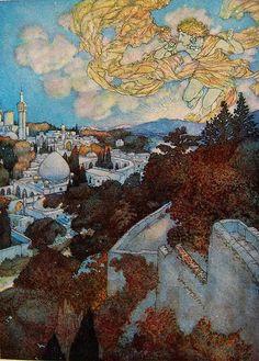 Edmund Dulac illustration in Rubáiyát of Omar Khayyám   Flickr - Photo Sharing!