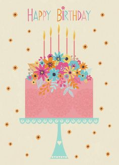 Jane Ryder-gray - Happy Birthday Cake