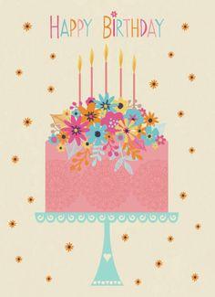 Jane Ryder-gray - Happy Birthday Cake