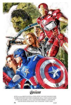 Avengers Sketch Poster
