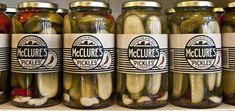 delicious small batch pickles and yummy garlic dill pickle potato chips. Vinegar Cucumbers, Pickling Cucumbers, Vodka Potato, Pickle Vodka, Pickle Dip, Celery Rib, Garlic Cheese, Sriracha Sauce, Shredded Carrot