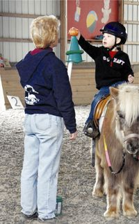 Hippotherapy in the NJ, PA, DE area