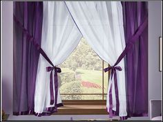 Home Curtains, Country Curtains, House Front Design, Purple Home, Interior Decorating, Interior Design, Interior Walls, Home Decor Styles, Soft Furnishings
