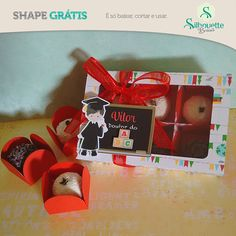 FREE chocolate box and inserts Studio Grazi shape gratis previa Shape Gratis Silhouette, Silhouette Cameo, Silhouette Projects, Free Shapes, Chocolate Box, Party Accessories, Banner, Paper Crafts, Gift Wrapping