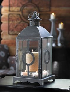 10 ANTIQUED FINISH CIRCLET CANDLE HOLDER LANTERN TABLE CENTERPIECES NEW~10015408 #Unbranded