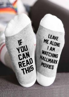 Hallmark Movies Socks 😍 It& that time of year again, Christmas is here and who doesn't love kicking back on the couch to watch Hallmark Christmas movies? Now you can keep warm and toasty, with these adorable and AWESOME Hallmark Movies Socks, Películas Hallmark, Films Hallmark, Hallmark Channel, Christmas Humor, Christmas Time, Christmas Crafts, Christmas Decorations, Christmas Outfits, Christmas Porch