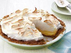 Magic Lemon Meringue Pie Recipe : Food Network Kitchens : Food Network - FoodNetwork.com