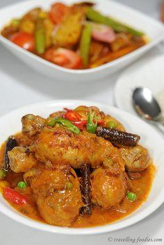 Ayam Masak Merah – Chicken in Spicy Tomato Gravy