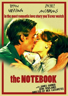 Classic movie posters meme: The Notebook