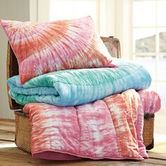 How to tie dye bed sheets, bed linen, bedding or cotton fabric