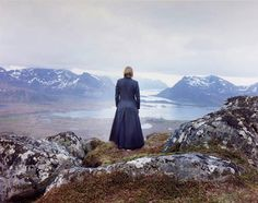 In this stunning series that blends landscape and self-portrait photography, Finnish artist Elina Brotherus documents herself facing away from the camera and gazing out towards the world. The scenes, which are both meditative and sad, investigate the strong relationship between a single human figure and the surrounding environment.