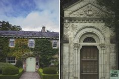 some of the pretty buildings at Cliff at Lyons.  Weddings by Couple Photography