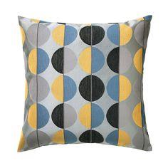 IKEA - ОТТИЛЬ, Чехол на подушку, Жаккардовое плетение придает ткани чехла выразительную рельефную фактуру.Благодаря молнии чехол легко снять.