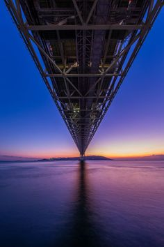 Akashi Kaikyo Bridge 明石海峡大橋 東京カメラ部 Editor's Choice:木曽耕一