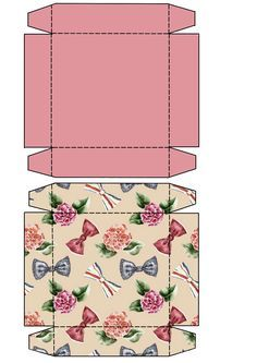 images about Barbie Printables & Miniature Printables on . Diy Gift Box, Diy Box, Gift Boxes, Paper Box Template, Gift Box Templates, Origami Templates, Diy And Crafts, Paper Crafts, Foam Crafts