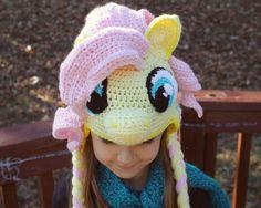 My Little Pony Fluttershy Costume, Crochet Hat Pattern