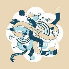 Illustrateurs | Partfaliaz - Part 2 by Gaëtan Heuzé