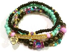 These stackable bracelets by @rrswristcandy are your new favorite accessory!
