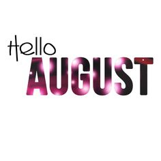 In reviewing my calendar last night this will be of the busiest months of my year.. Be gentle August! Here we go!