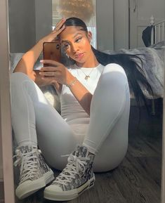 Cute Swag Outfits, Chill Outfits, Dope Outfits, Trendy Outfits, Summer Outfits, Mode Streetwear, Streetwear Fashion, Black Girl Fashion, Look Fashion