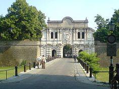 Ingresso monumentale della Cittadella di Parma