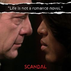 Scandal.  Cyrus Beene tries to talk some sense into Olivia.