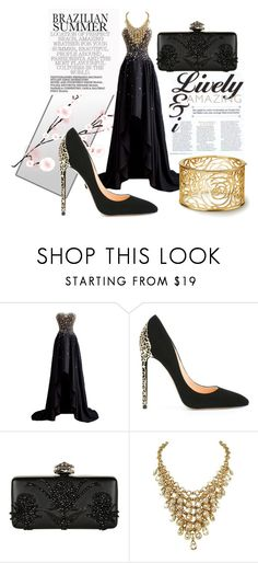 """Untitled #99"" by belmaah ❤ liked on Polyvore featuring Cerasella Milano and Alexander McQueen"
