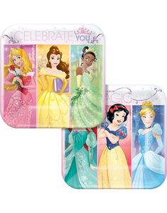 Disney Princess Dessert Plates 8ct
