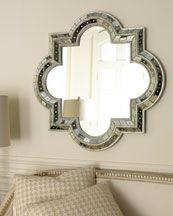 Quatrefoil Mirror by Horchow