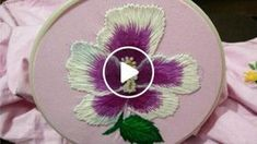 It is very beautiful and easy I use basic stitches I used three ply wool to make it but u can use cotton or silk thread too I motif I used is from Pinterest
