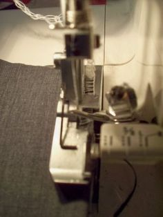serger tutorial