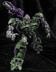Customized G2 style Movie Megatron Transformers figure