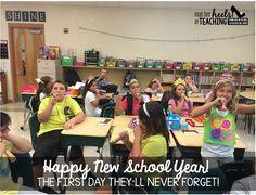 Orange Ya' Glad Blog Hop-Back to School Ideas: Happy New School Year Celebration!