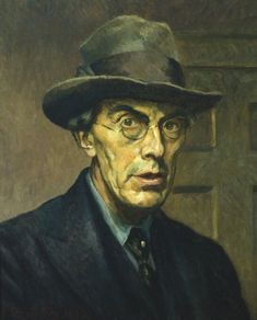 "Roger Fry self-portrait. In November 1910, Fry organised the exhibition Manet and the Post-Impressionists (a term which he coined) in London. This exhibition was the first to prominently feature Gaugin, Manet, Matisse, and Van Gogh in England and brought their art to the public. Virginia Woolf later said, ""On or about December 1910 human character changed,"" referring to the effect this exhibit had on the world."