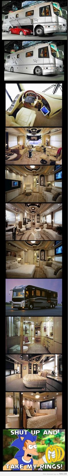 I could live in this and travel the country!