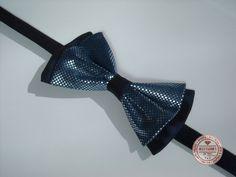 http://accessoriesforstars.blogspot.ro/2015/01/papion-disco-blue.html #navyblue #softblue #shine #glitter #bowtie #silvershine #silver #accessoriesforstars