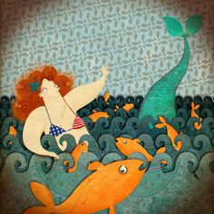 Illustration / Kids by Florence Weiser, via Behance
