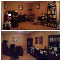 Clutter free and looking great before and after home - Declutter before and after ...