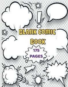 """Blank Comic Book v2: 175 Pages Fun and Unique Variety of Templates A Large 8.5"""" x 11 Cute Baby Cartoon, Cute Love Cartoons, Blank Comic Book, Comic Books, Cartoon Drawings, Easy Drawings, Amazon Coloring Books, Funny Cartoon Memes, Story Drawing"""
