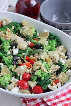 STAR Fine Foods: Greek Vegetable Salad with Homemade Greek Vinaigrette