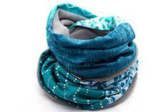Winter Loop Schal der LIEBLINGSMANUFAKTUR – Ein Unikat, bunt, einzigartig – Farbenfroher Loopschal aus Baumwolle & Fleece. – Unkompliziert die eigene Kleidung aufpeppen - Hochwertig verarbeitet