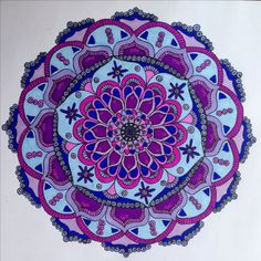 Mandala by Laurie Fahlman