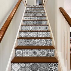 Staircase Decals - Tile Decal - Portuguese Tiles - PACK OF 48 Tiles