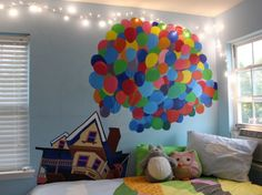 This is just really cute and I would love to do something like this to my room.