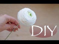 (109) Лютик из бумаги 100 лепестков - DIY Tsvoric - YouTube