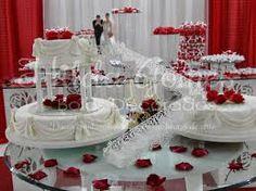 Resultado de imagem para bolo casamento quadrado azul e rosa