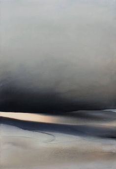 "Saatchi Art Artist Sabrina Garrasi; Painting, """"A fragment of infinity"" / Abstract Landscape"" #art"