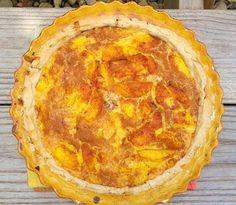 Preppy Mountain Farmhouse: Delicious Peach Custard Pie